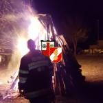Brandwache Osterfeuer 2016