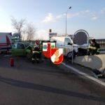 Verkehrsunfall Auffahrt S31 am 06.04.2018