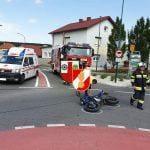 Verkehrsunfall Kreisverkehr am 03.07.2019
