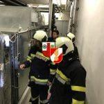 Brandalarm im TZ Neutal am 09.11.2019