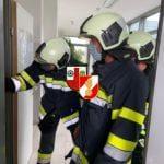 Brandalarm in einer Firma in der Gewerbestraße