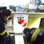 Geschirrspülerbrand in der Bahngasse
