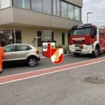 Verkehrsunfall Kreisverkehr